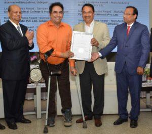 Dr Arvinder Singh Got UCCI Excellence Award